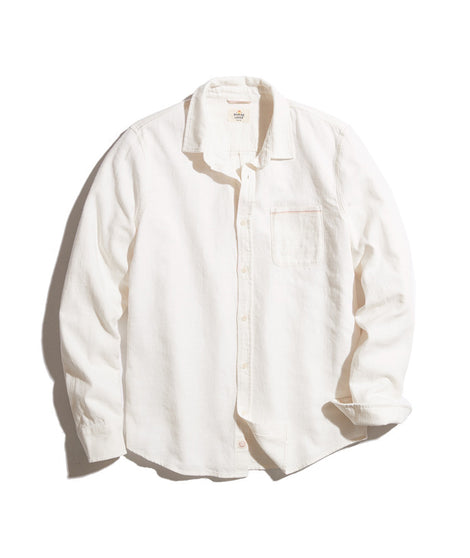 Sacramento Button Down in White