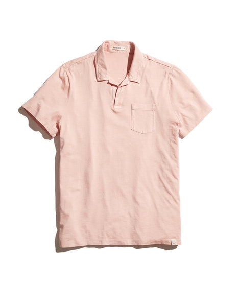 Stillwell Polo in Soft Peach