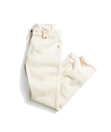 Slim 5 Pocket Pant in Natural