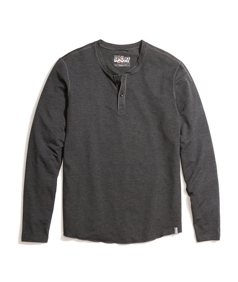 Sport Henley in Anthracite Heather