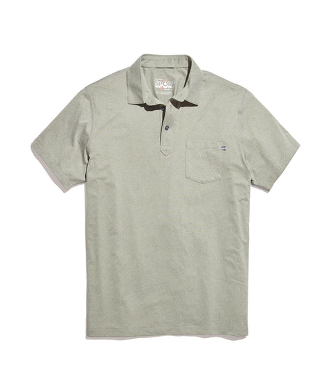 Sport Polo in Agave Green