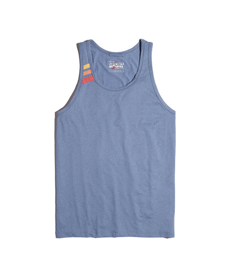Sport Tank in Blue Heather