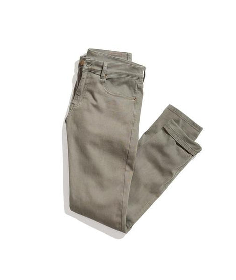 Slim 5 Pocket Pant in Dusty Olive