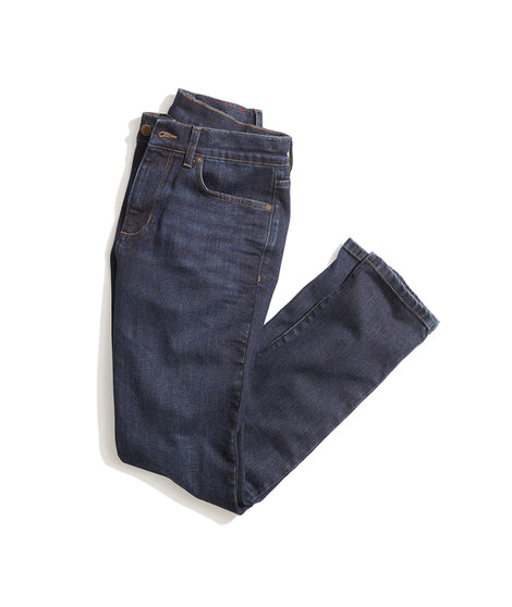 Straight Fit Jean in Dark Wash