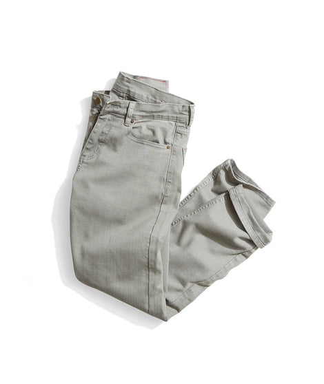 Straight 5 Pocket Pant in Concrete Grey