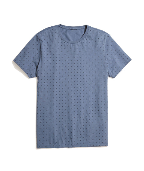 Sun Print Tee in Bering Sea