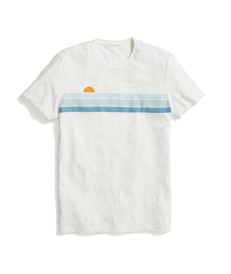 Sunset Tee in Natural