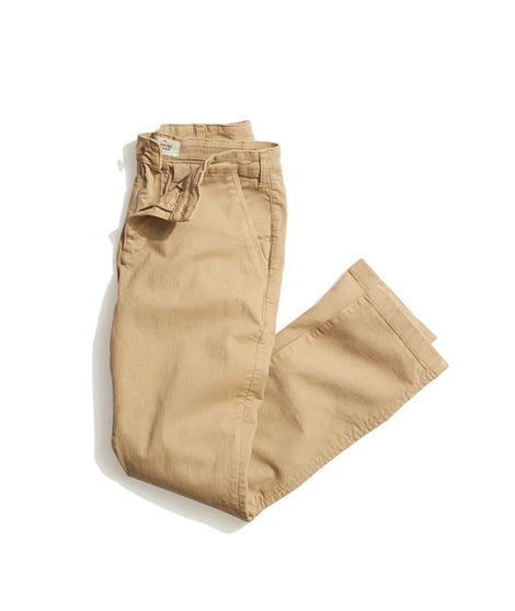 Walk Pant in Warm Khaki