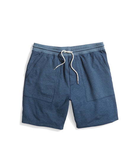 Yoga Short in Dark Denim