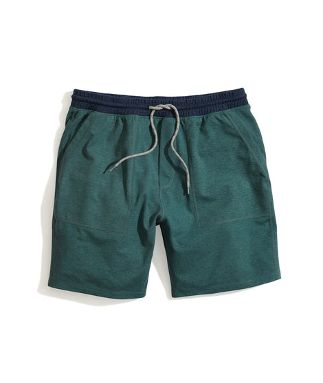 Sport Yoga Short in Mallard Heather
