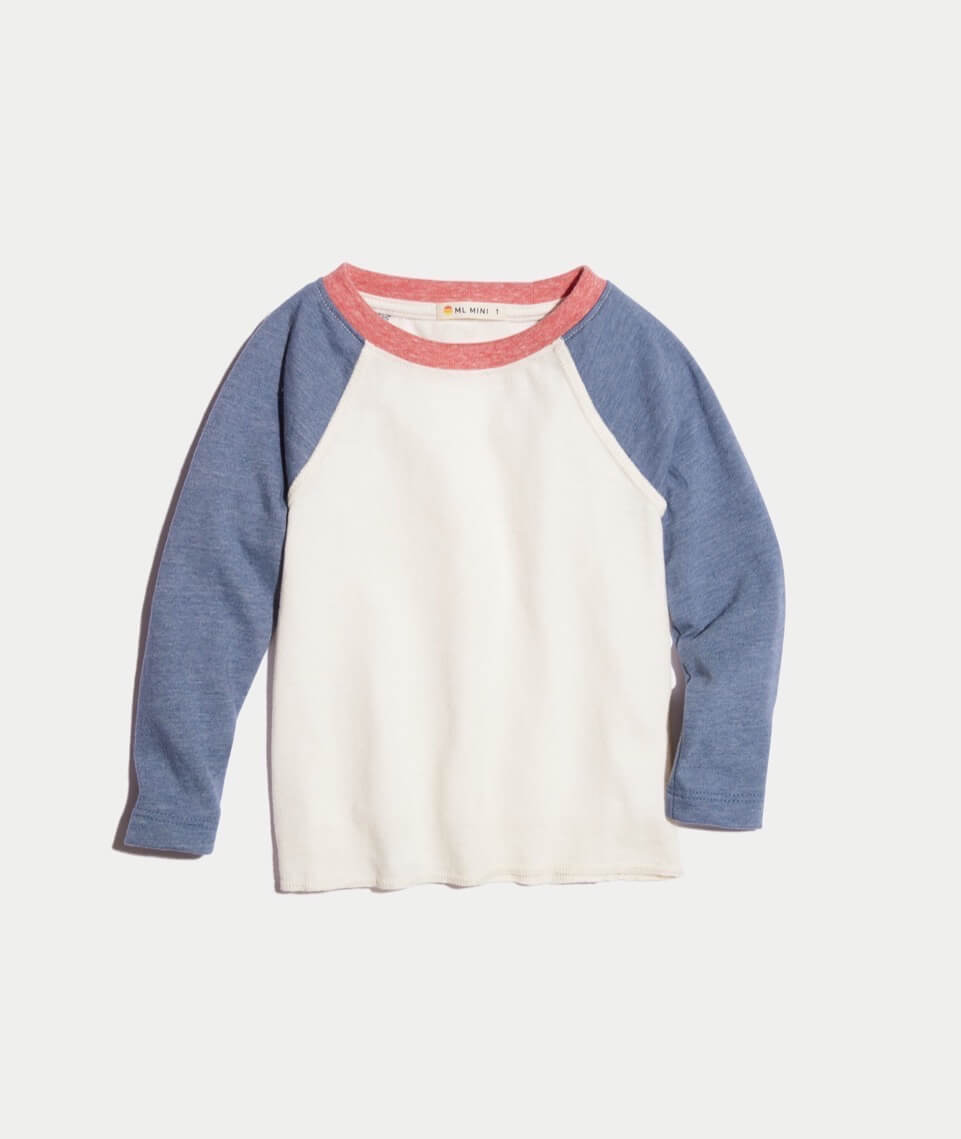 Mini Baseball Raglan