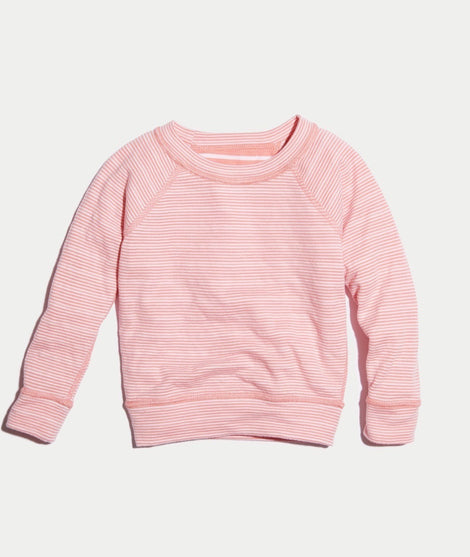 Mini Radley Reversible Raglan in Coral Stripe
