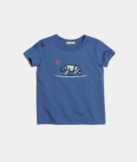 Mini Surfing Bear Tee
