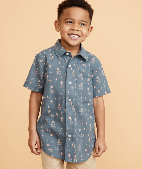 Mini Barlow Button Down