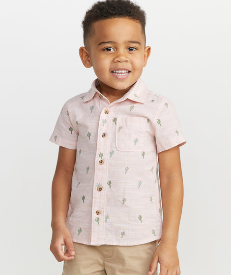 Mini Ward Short Sleeve Button Down