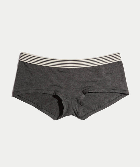 ML Boyshort in Charcoal