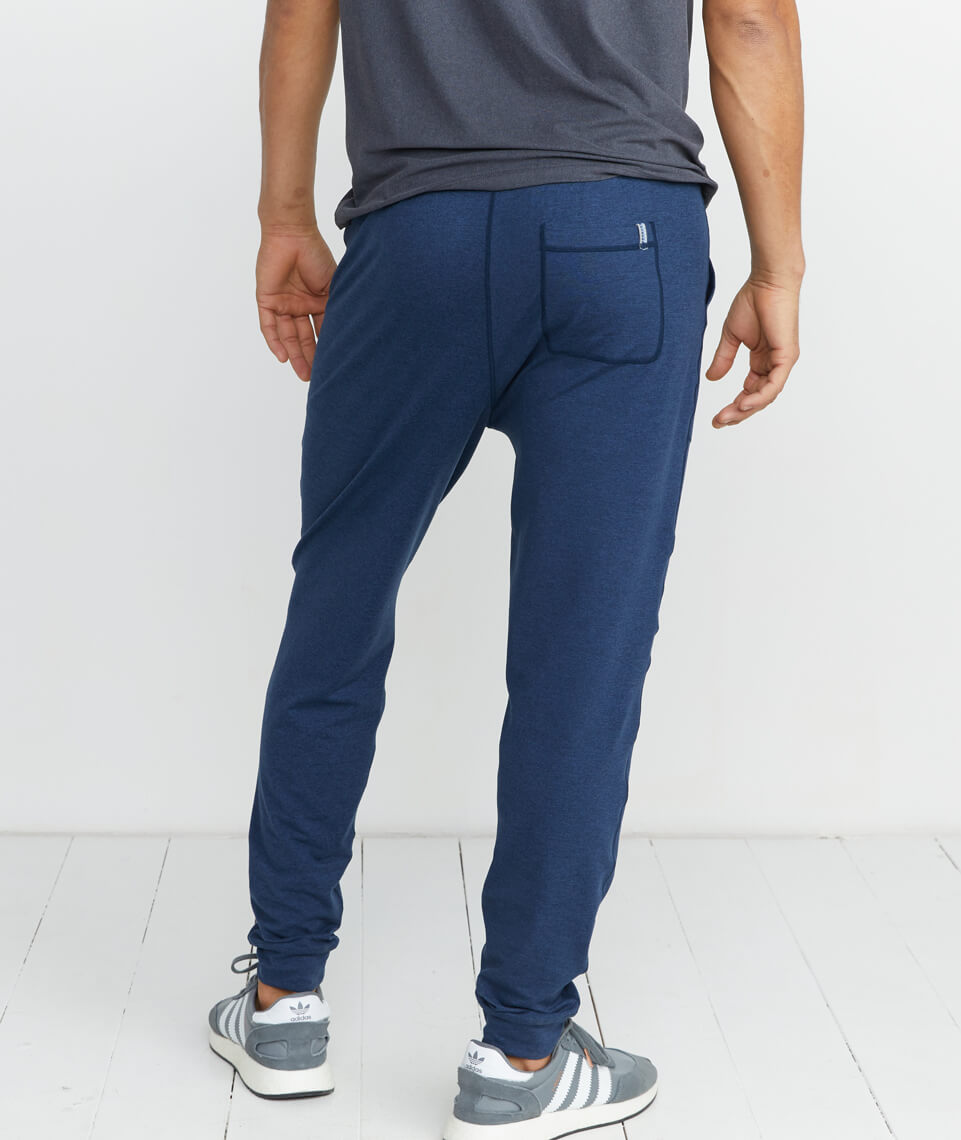 Yoga Jogger in Navy Heather