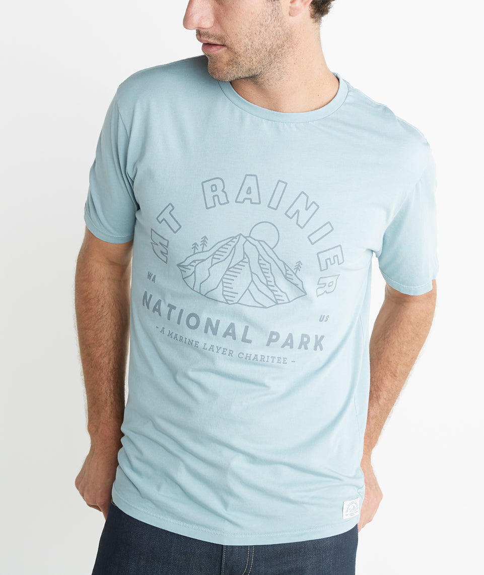 The Mt. Rainier Tee - Guys