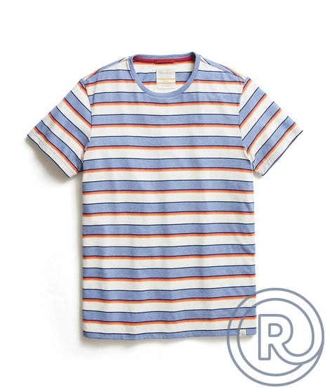 Re-Spun Multi Striped Tee