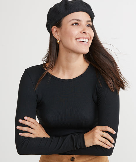 Napa Beret in Black