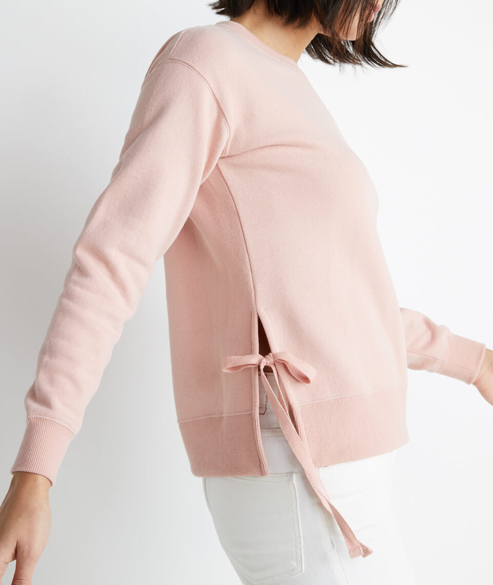 Nora Sweatshirt in Rose Cloud