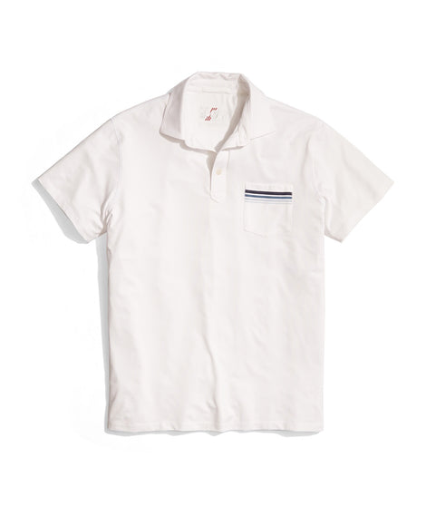 palmer sport polo white laydown