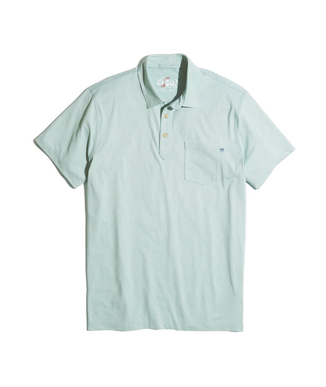 Palmer Sport Polo in Green Mist