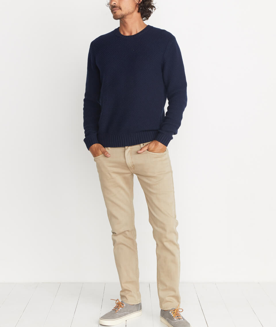 Prescott Sweater in Navy