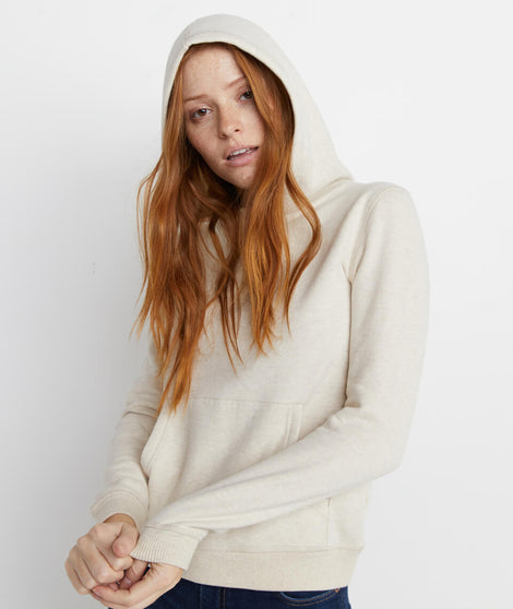 Regina Cowlneck Hoodie in Oatmeal Heather
