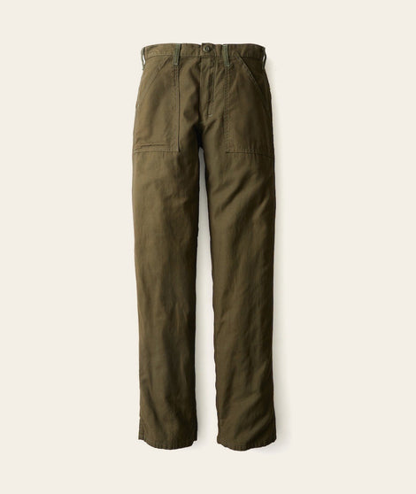 Military Trouser in Dark Green