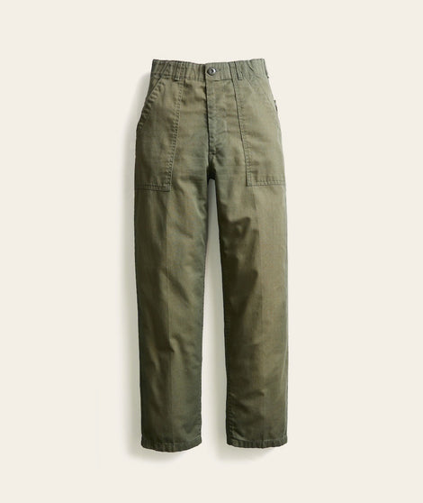 Military Trouser in Light Green