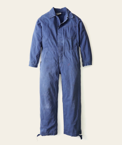 Jumpsuit in Faded Blue