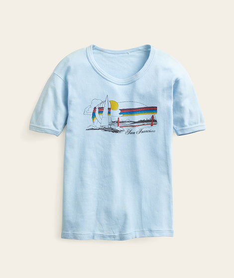 San Francisco Baby Blue Tee