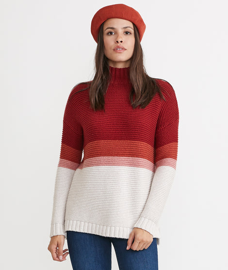 Remi Sweater in Warm Multi Stripe