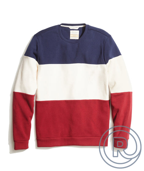 Re-Spun Colorblock Sweatshirt