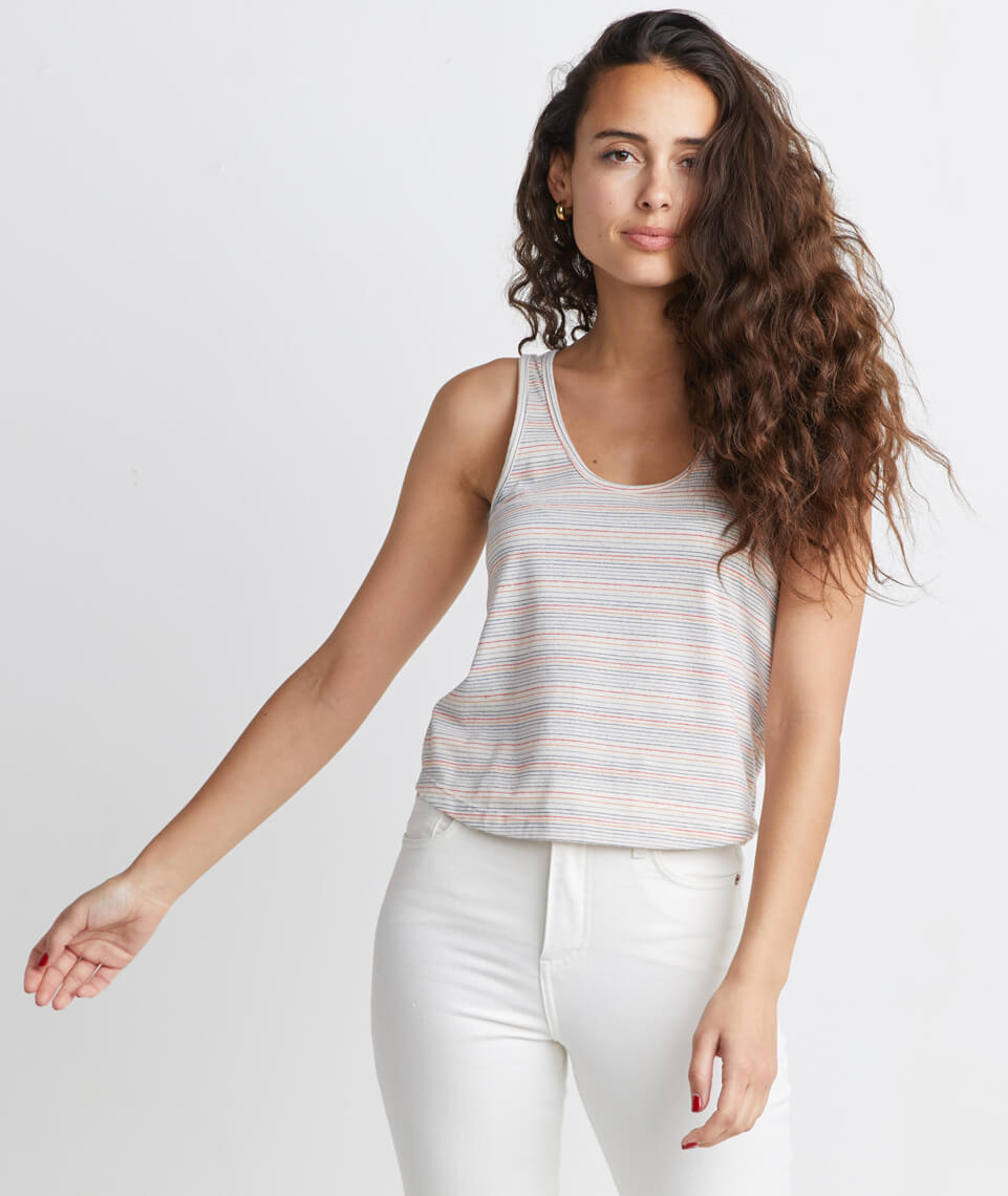 Re-Spun Striped Tank