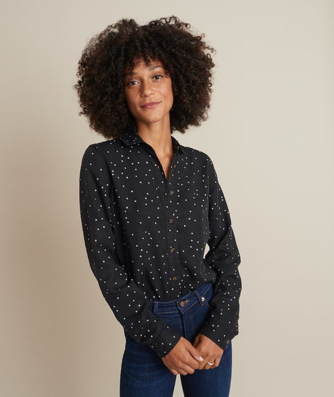 Sahara Relaxed Shirt in Starry Print