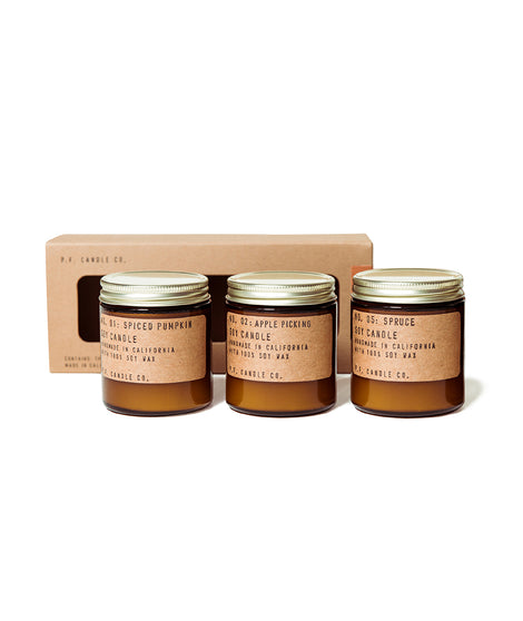 P.F. Candle Co Seasonal Combo Pack
