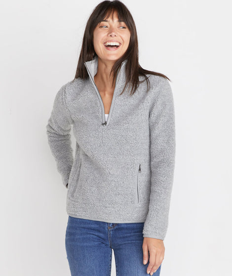 Lady Sherpa Corbet in Heather Grey