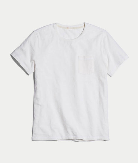 Signature Pocket Tee in White