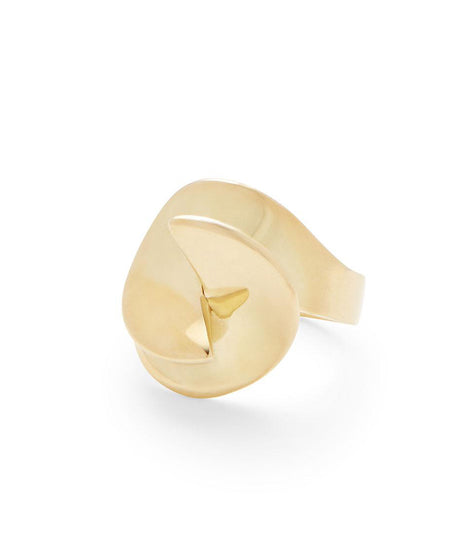 Soko Sia Ring in Brass