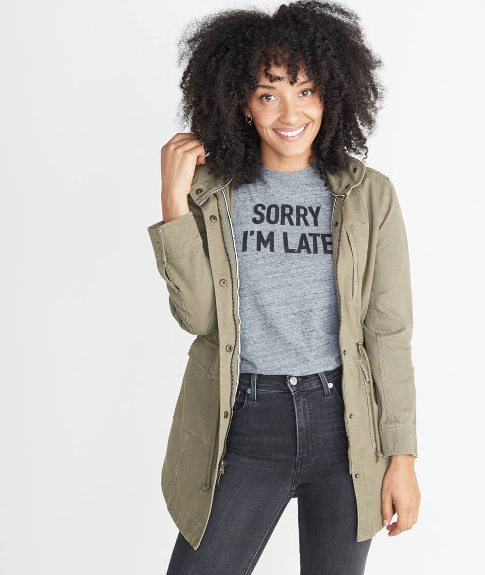Sorry I'm Late Graphic Tee