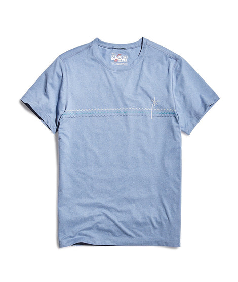 Sport Crew in Light Blue Heather