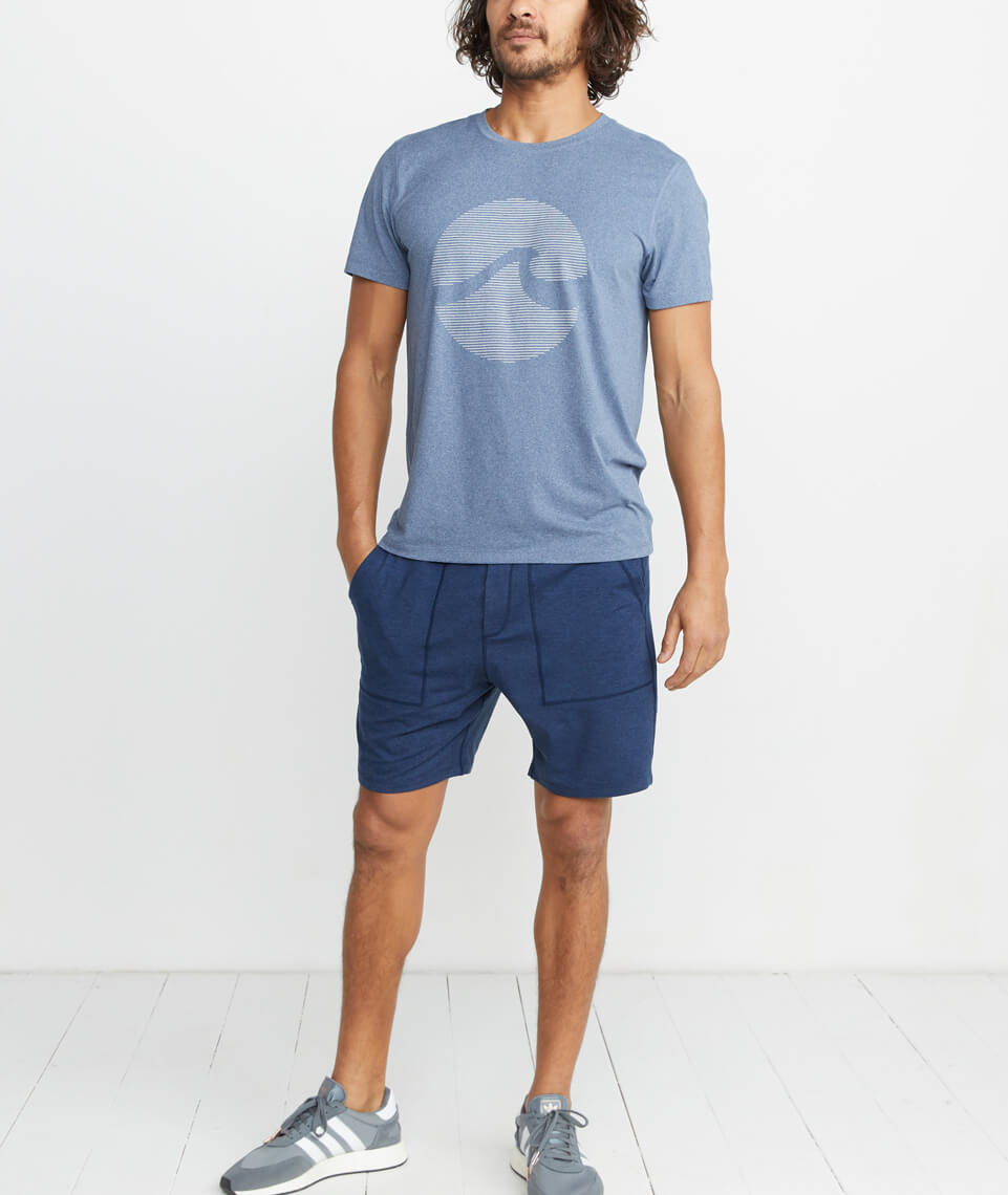Sport Crew in Navy Heather