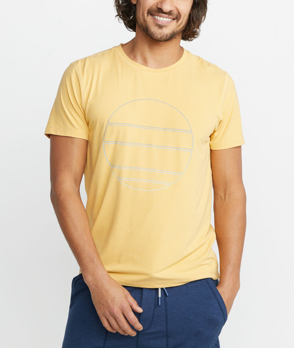 Sport Crew in Mineral Yellow