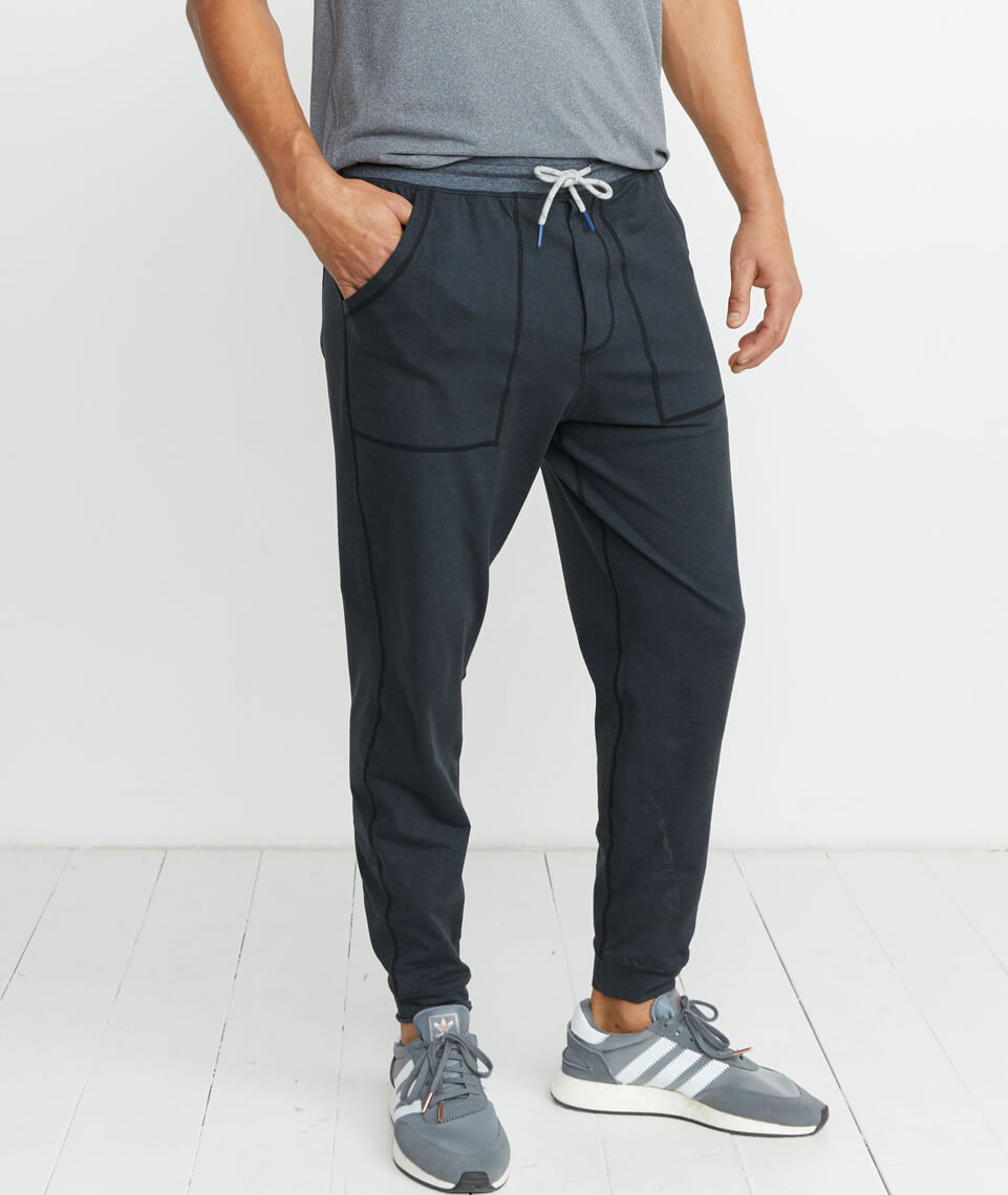 Yoga Jogger in Asphalt Heather