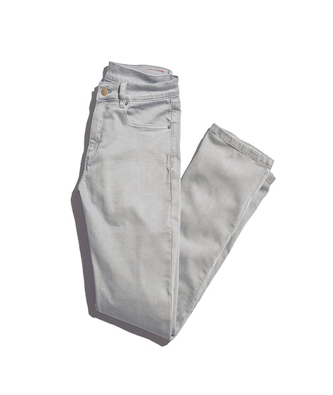 Straight 5 Pocket Pant in Medium Grey