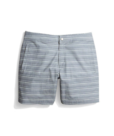 Summer Short in Navy Stripe