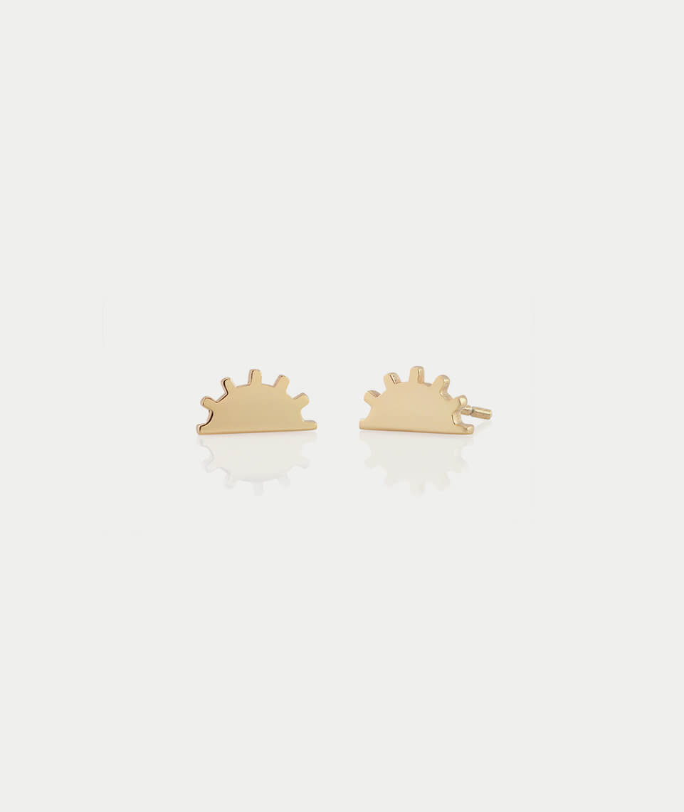 Kris Nations Sunset Stud Earrings