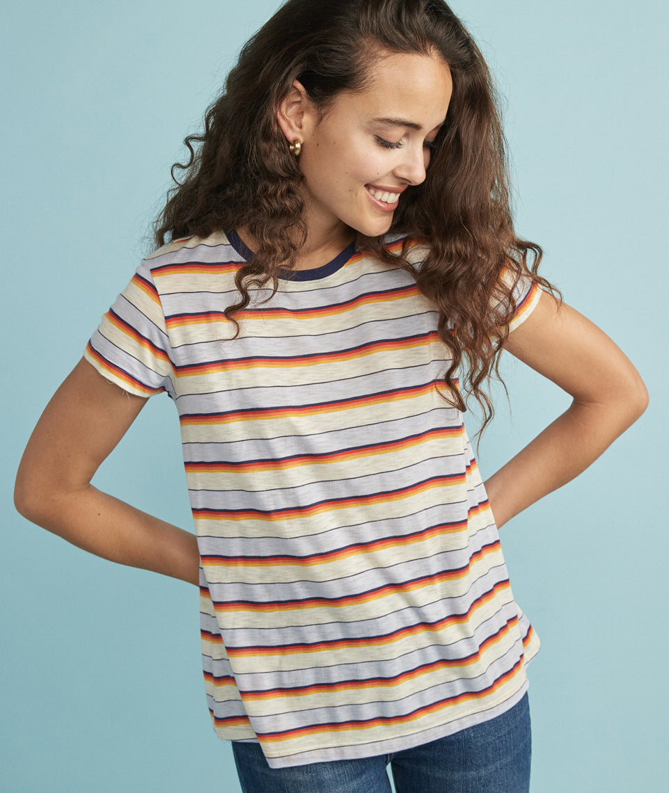 Swing Crew in Retro Multi Stripe